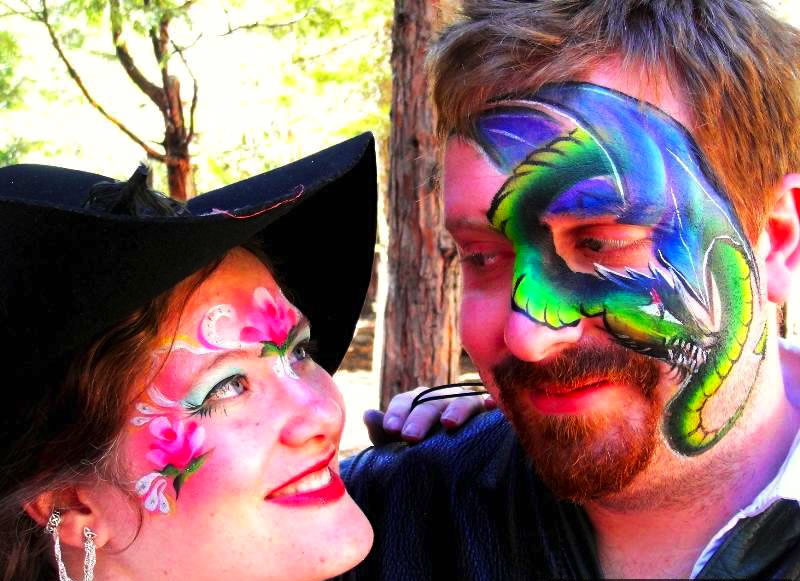 face painting butterflies flowers 55