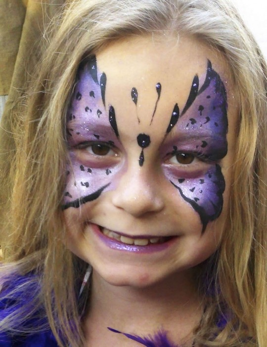 face painting butterflies flowers 6