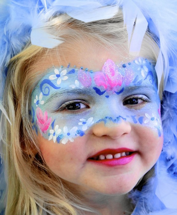 face painting butterflies flowers 60