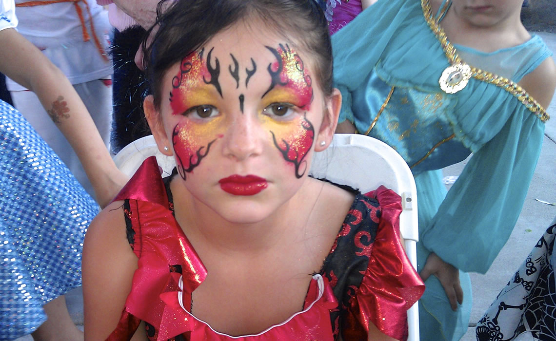face painting butterflies flowers 82