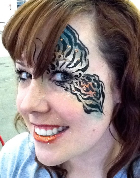 face painting butterflies flowers 88