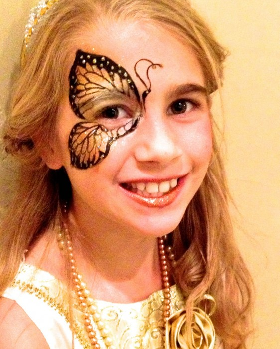 face painting butterflies flowers 95
