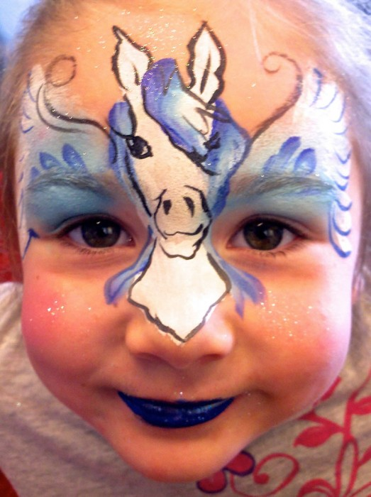face painting fantasy 11