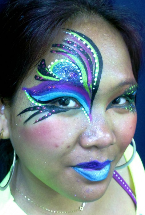 face painting fantasy 12