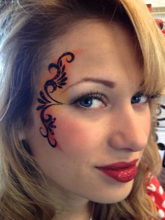 face painting fantasy 125