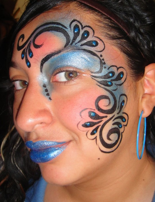 face painting fantasy 19
