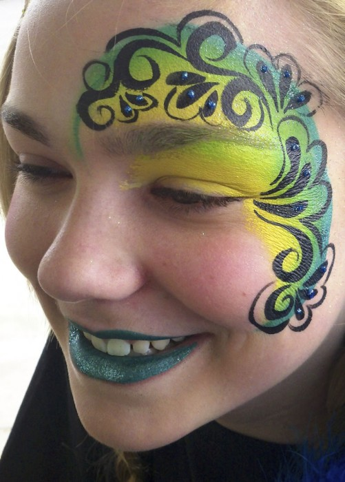 face painting fantasy 4