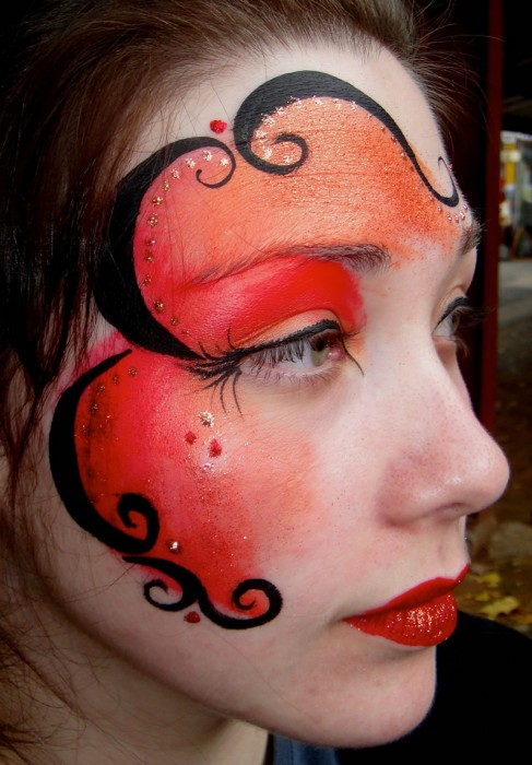face painting fantasy 48