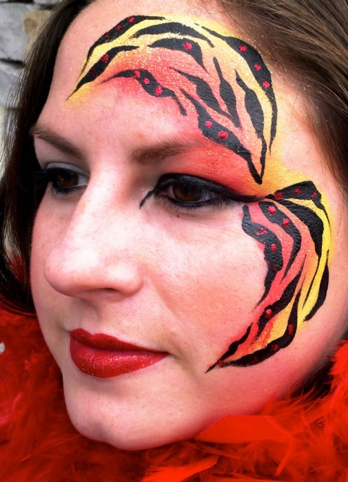 face painting fantasy 5