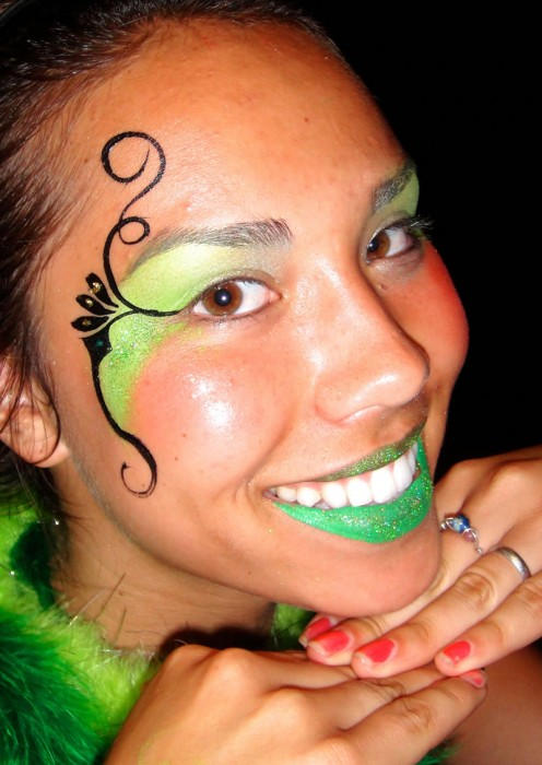 face painting fantasy 50