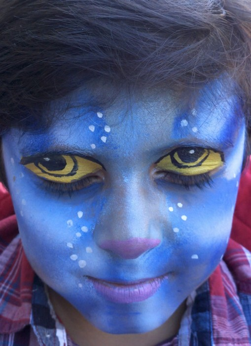 face painting fantasy 9