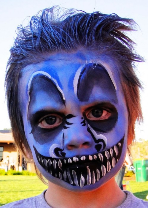 face painting monsters and gore 101