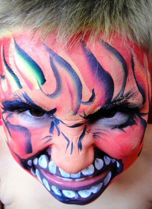 face painting monsters and gore 102