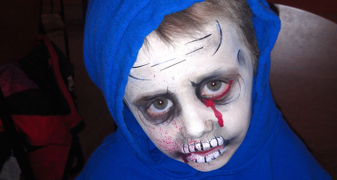 face painting monsters and gore 103