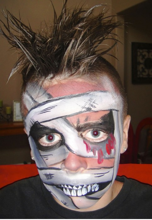 face painting monsters and gore 106