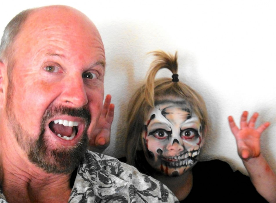 face painting monsters and gore 110