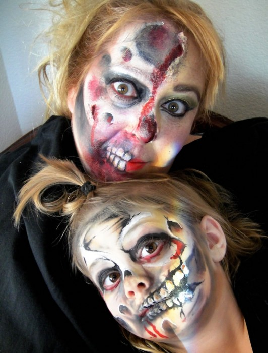 face painting monsters and gore 112