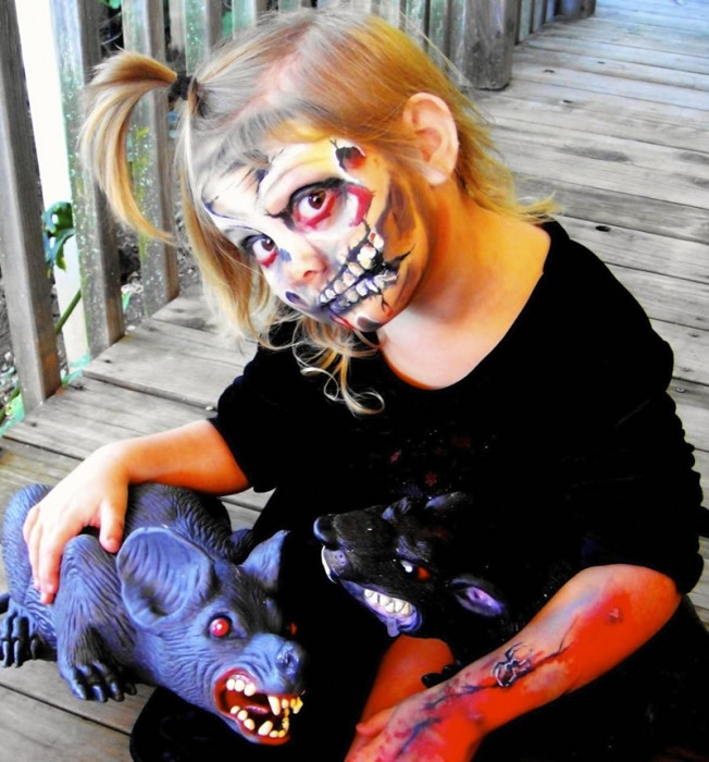 face painting monsters and gore 113