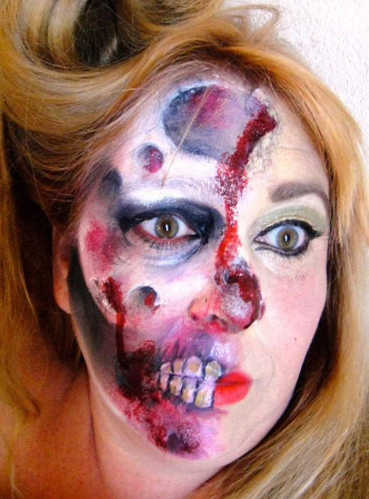 face painting monsters and gore 114