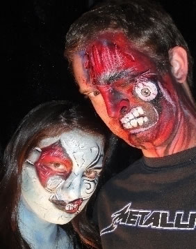 face painting monsters and gore 116