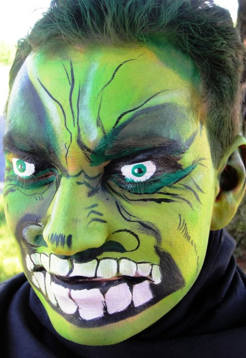 face painting monsters and gore 118