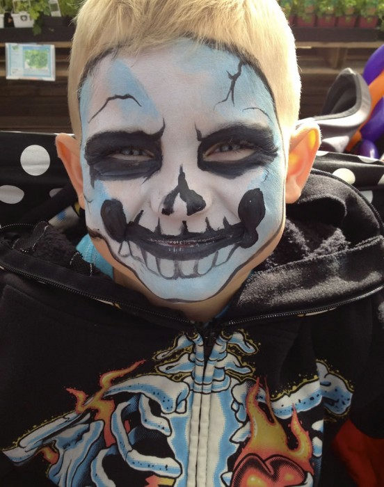 face painting monsters and gore 125