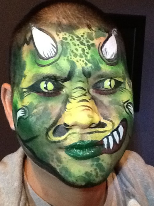 face painting monsters and gore 128