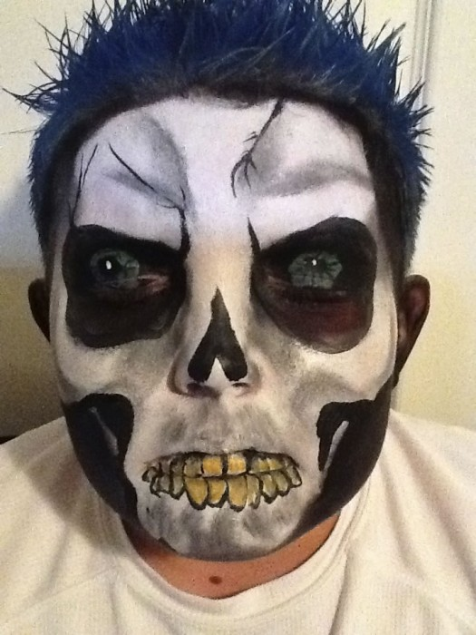 face painting monsters and gore 132