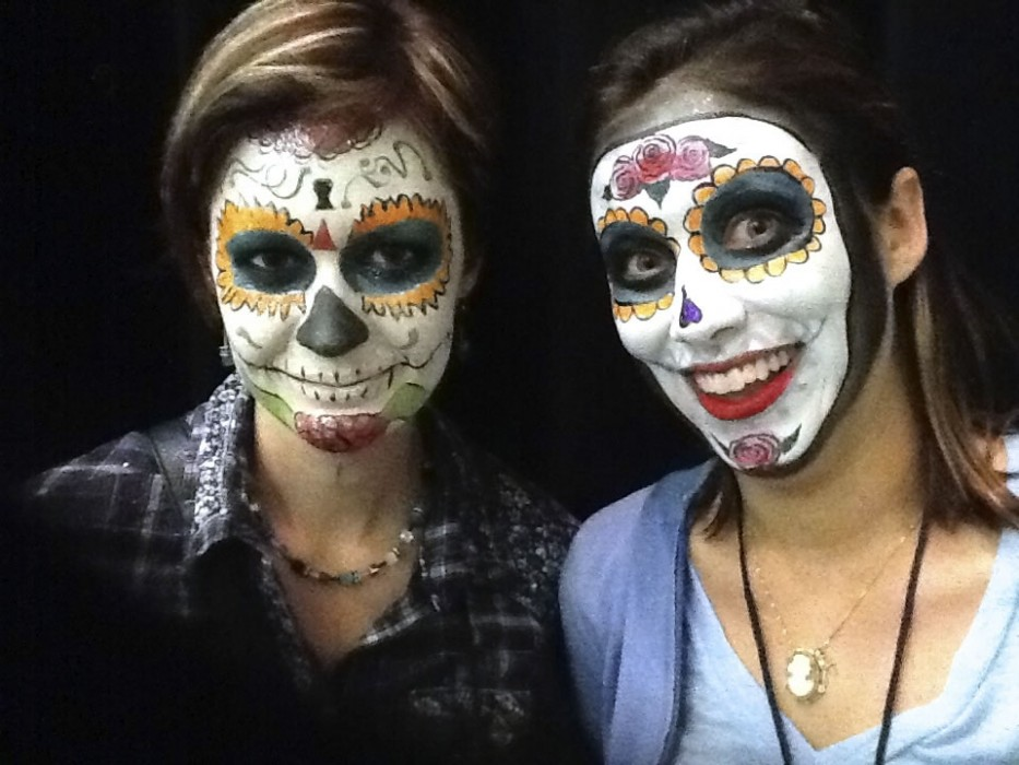 face painting monsters and gore 136