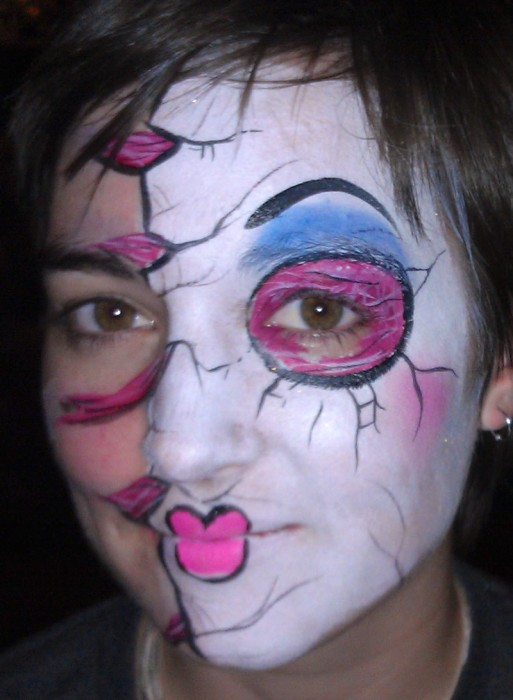 face painting monsters and gore 137