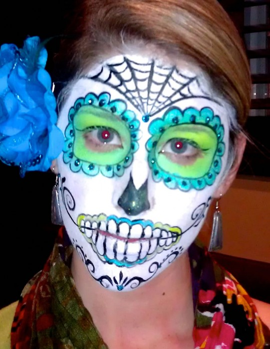 face painting monsters and gore 139