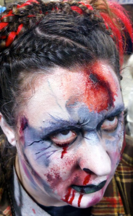 face painting monsters and gore 14