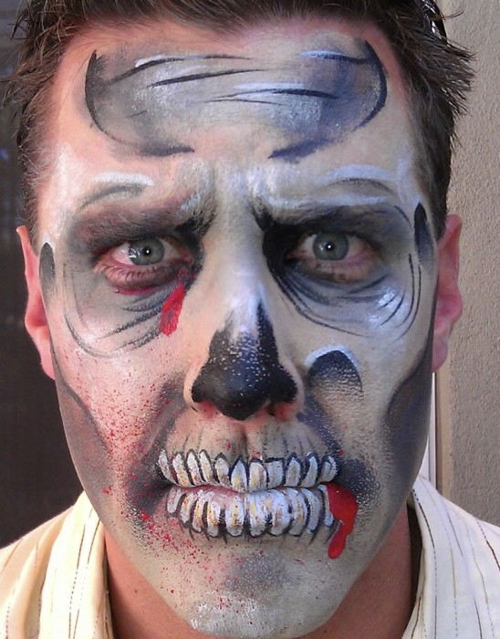 face painting monsters and gore 142