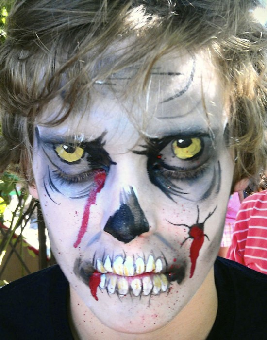 face painting monsters and gore 143