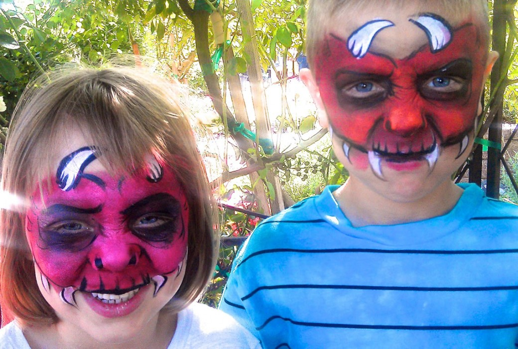 face painting monsters and gore 144
