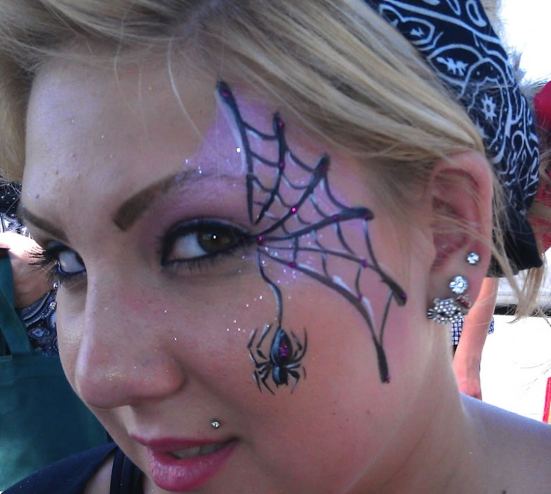 face painting monsters and gore 145