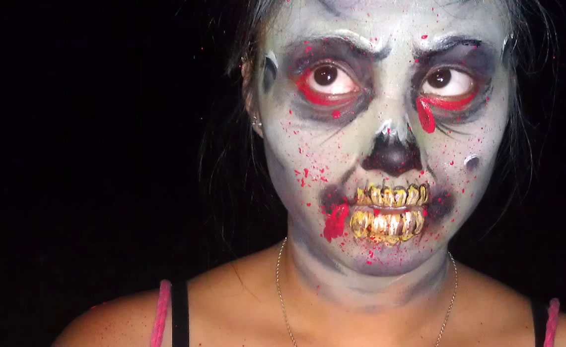 face painting monsters and gore 146