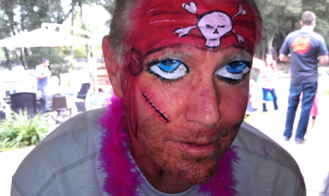 face painting monsters and gore 148