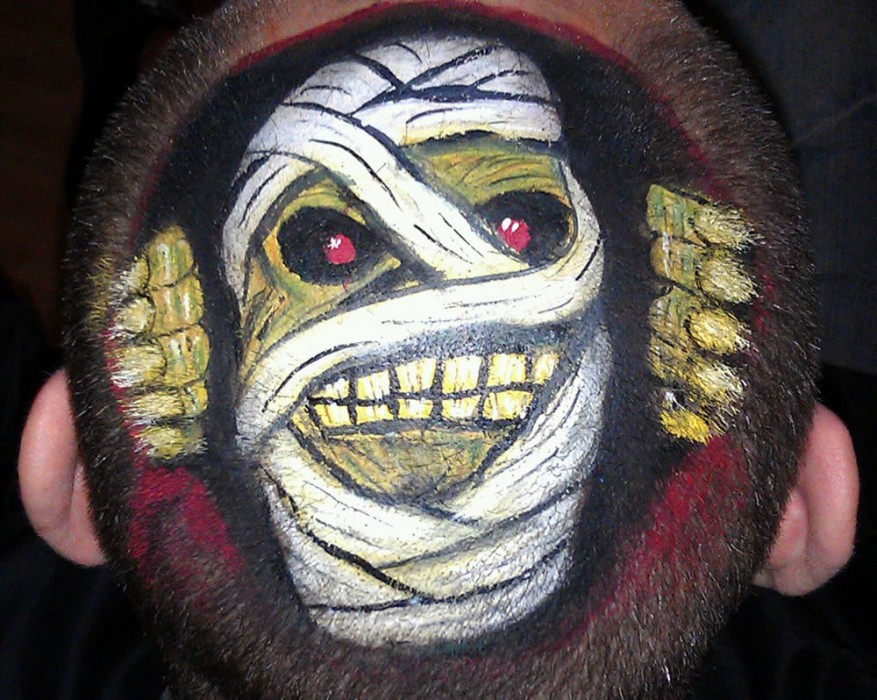 face painting monsters and gore 149