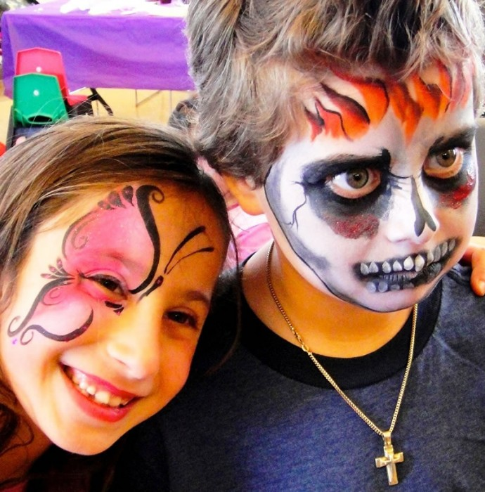 face painting monsters and gore 2