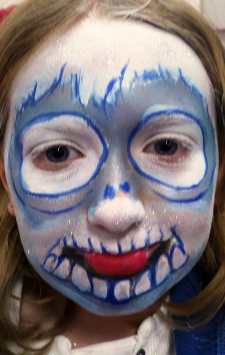 face painting monsters and gore 21