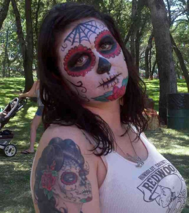 face painting monsters and gore 24