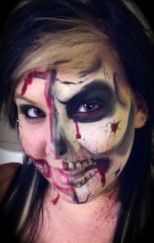 face painting monsters and gore 30