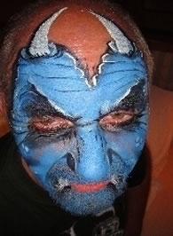 face painting monsters and gore 36