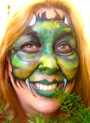 face painting monsters and gore 37