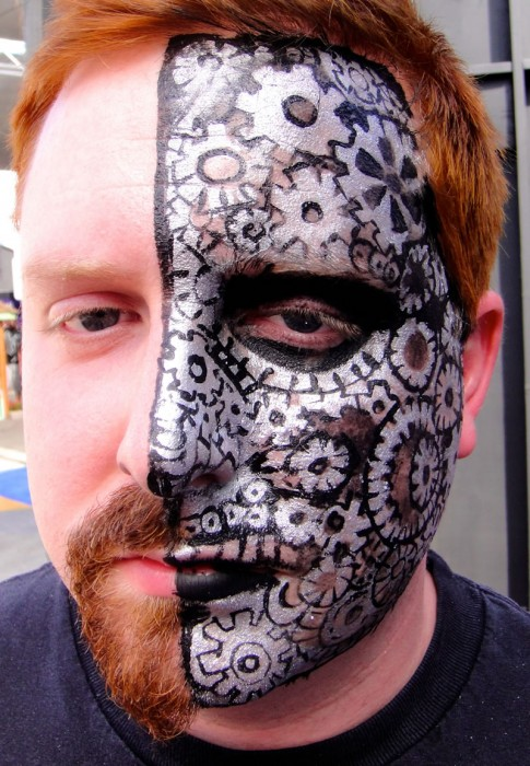 face painting monsters and gore 40
