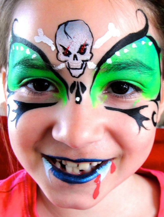 face painting monsters and gore 48