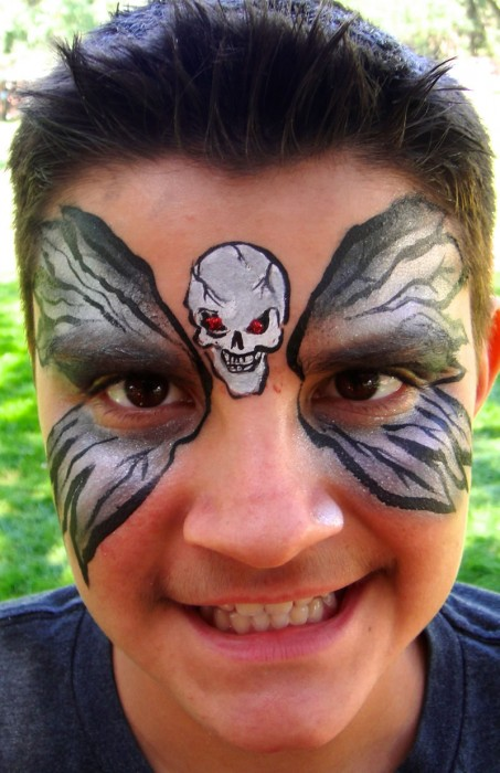 face painting monsters and gore 55