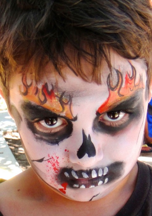 face painting monsters and gore 57