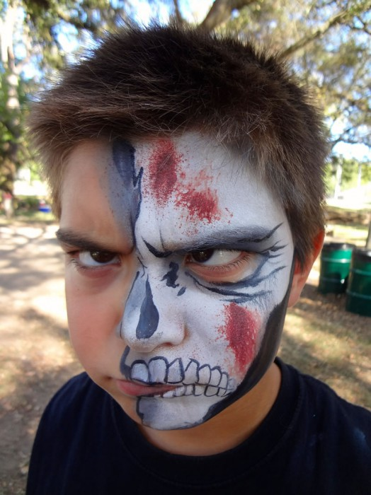 face painting monsters and gore 63